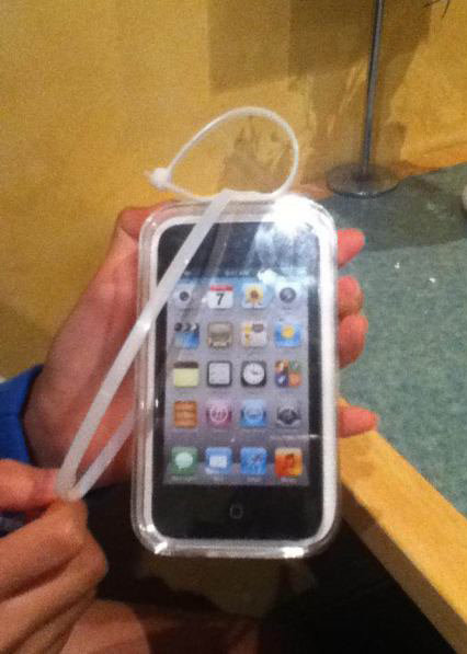 I won an Ipod touch in a game machine. The tags lie.. I'd sell it and get something useful.