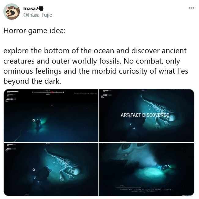 I'd buy it. join list: GameJunk (72 subs)Mention History join list:. Basically Subnautica, but it has creepy trying to kill you.