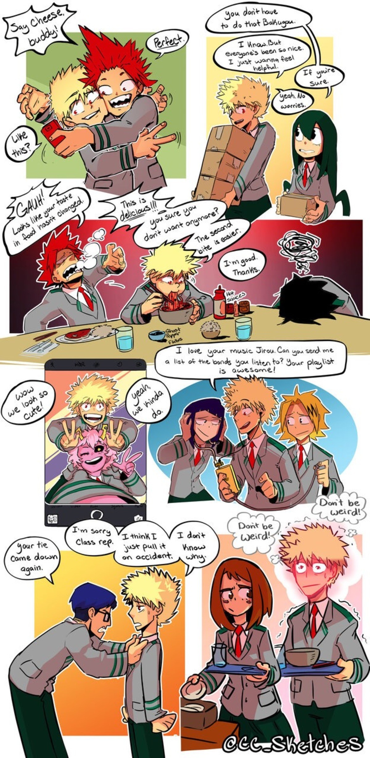 If Bakugo Were Nice. What a strange world it would be! join list: altanimecomps (166 subs)Mention History. P, may. cursed