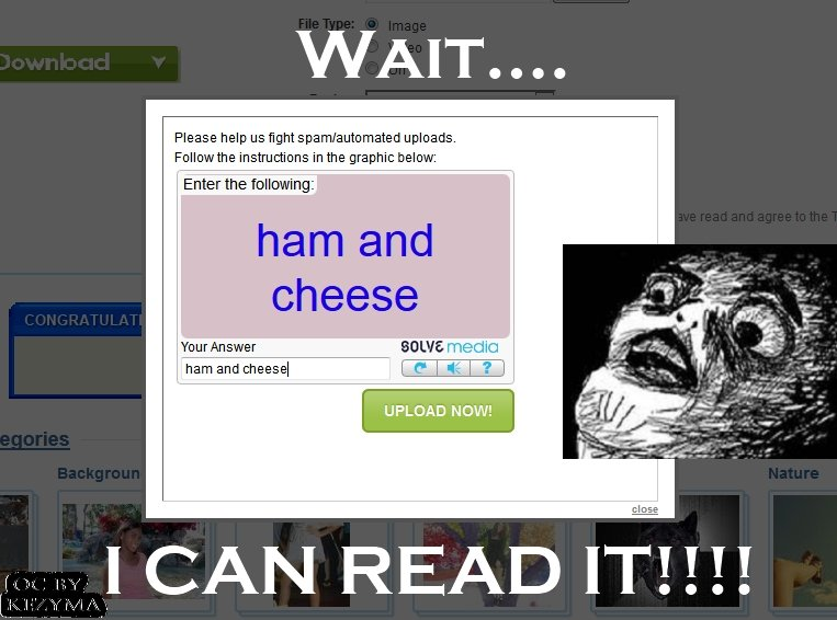 """If only this happened every time.... life would be simpler!!!. Please help we g? . ? blivit% Feller the 1"""" """" rtal in the graphic: Delmar: Enter the cheese four"""