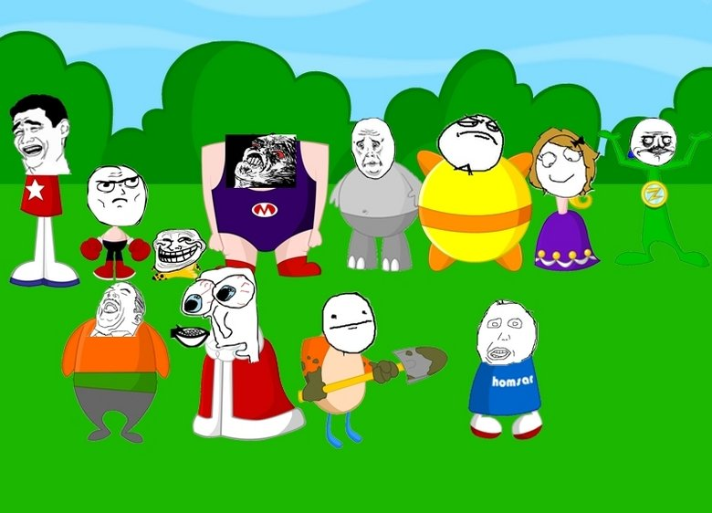 If Homestar Characters Were Memes. 10% OC.. I think you done a great jorb here, clevername