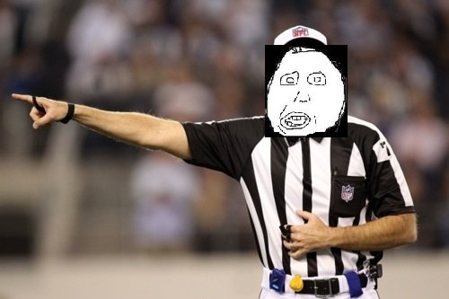 in Refs. Bunch of .. wisconsin is in a state of rebellion as we speak. MFW all the bad calls