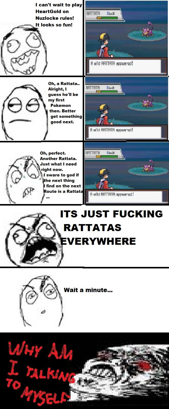 "in Rattatas. true story. I {ain' t wait to play lolare rules! It looks so fun! tth, a Rattata Alright, I ."" my first i( ) dfi) Pokemon then. Better get somethin"