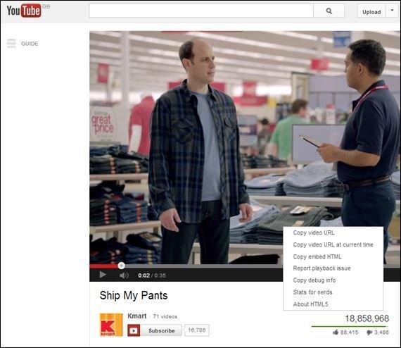 ing love Youtube sometimes.... Second to last option of dropdown menu.. Sip. r', aack Li l we