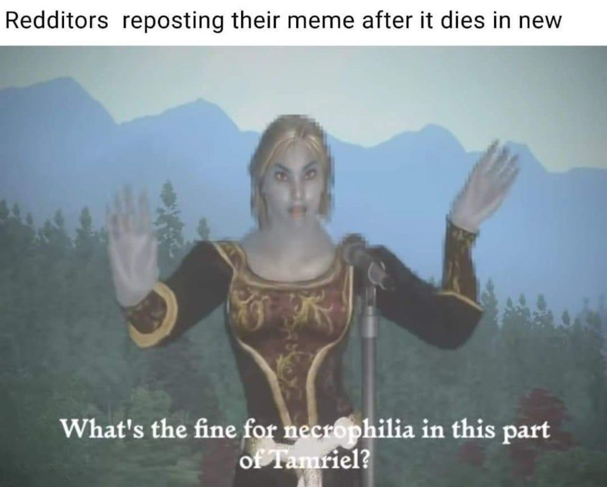 Just Fine. .. Dunmer girls corpses and barbed Khajiit penises as well