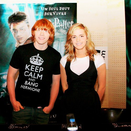 Keep Calm and Bang Hermione. Bang Her.