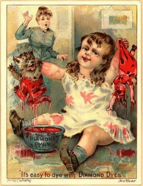 Kids were cruel back in the day.. .. I thought she was ripping the cat in half.