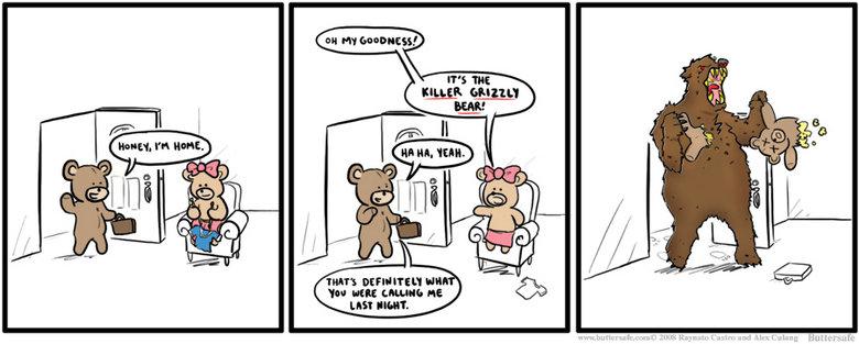 Killer Grizzly Bear. lol Moar on my profile - buttersafe.com. IDEAL' CAM : HE LIE! SHEIIT.