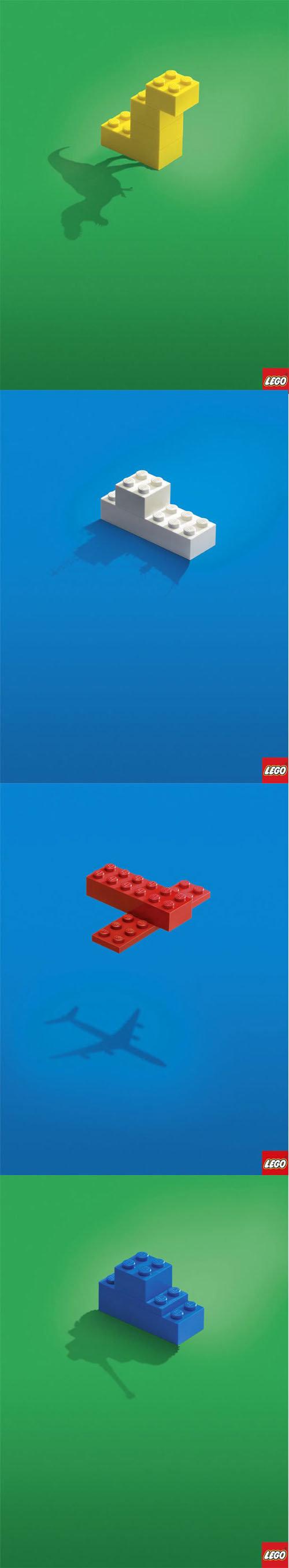 Legosaur. Do you have this kind of imagination?.. IMAGINATION