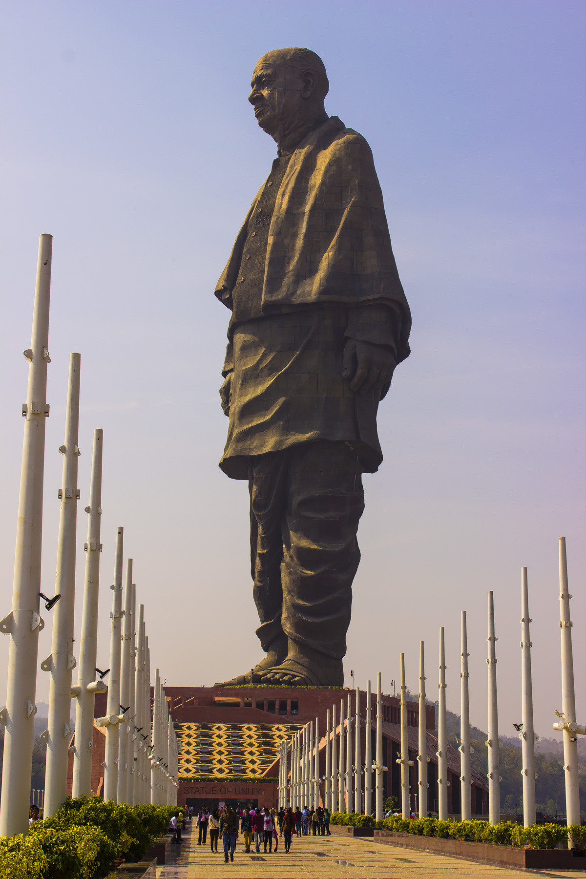 Let's see you s topple this!. Statue of Unity ofUnity.. Made in India ... I don't know what that means