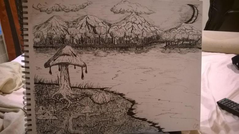 Lets start an art thread. anyone is welcome. Amateurs, pros, pen, pencil, paint lets post what weve done. constructive criticism is welcome. lets do this boys a