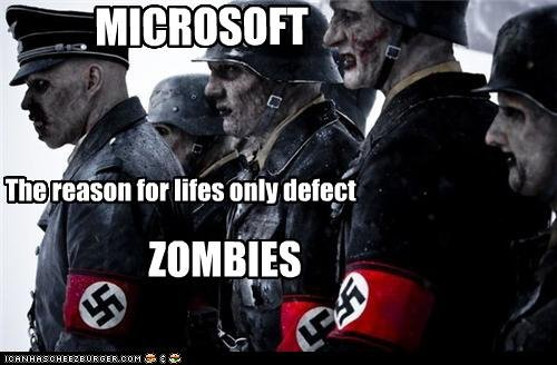 Lifes Only Defect. Only Microsoft.... at g