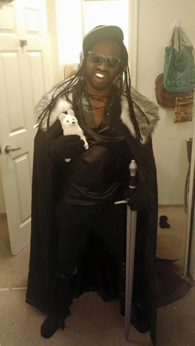 Lil Jon Snow. Maybe repost? Maybe stolen? Maybe Maybeline..