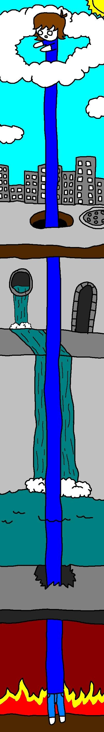Long Evan is LOOOOOOOOOOONG!. This took a long time to make, but it was awesome because I did it with my new tablet! I thumb up EVERY COMMENT, so you should thu