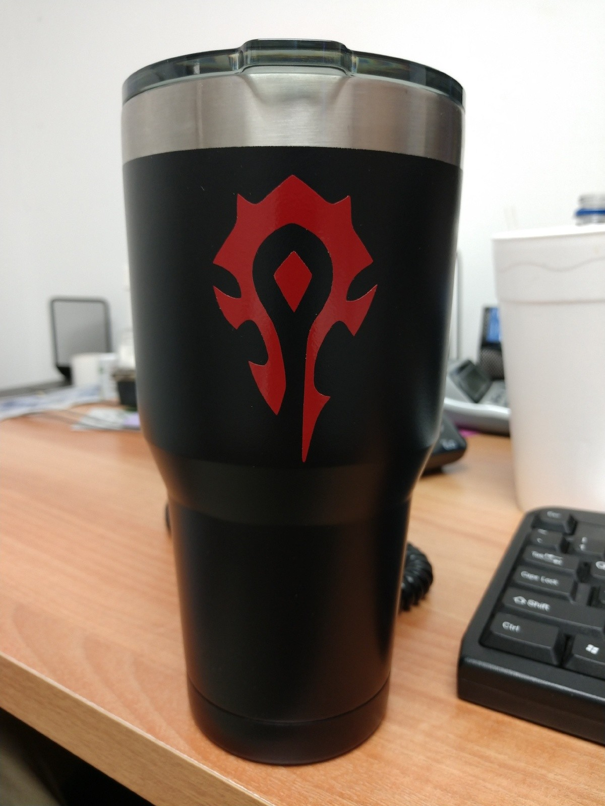Look what my friend made for me. Lok'tar Ogar!!!.. Fleshlight for the Alliance?