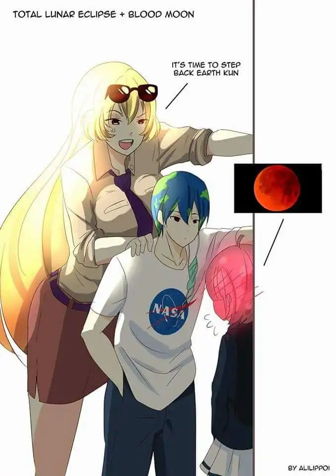 Lunar Eclipse 2 by AkihisaTaka. join list: Animango (871 subs)Mention Clicks: 92147Msgs Sent: 669339Mention History. TOTAL LUNA? ECLIPSE Ar MOON r,,, IT' S TIME
