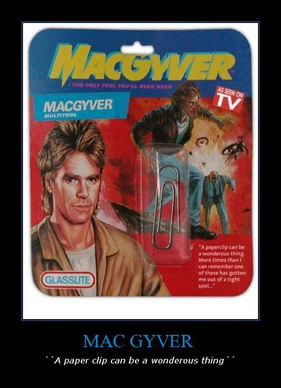 """Mac Gyver. This guy is awsome. IA pepel"""" c/ cart be a wonderous thing f f. the probably sold that thing for like 10 dollars"""