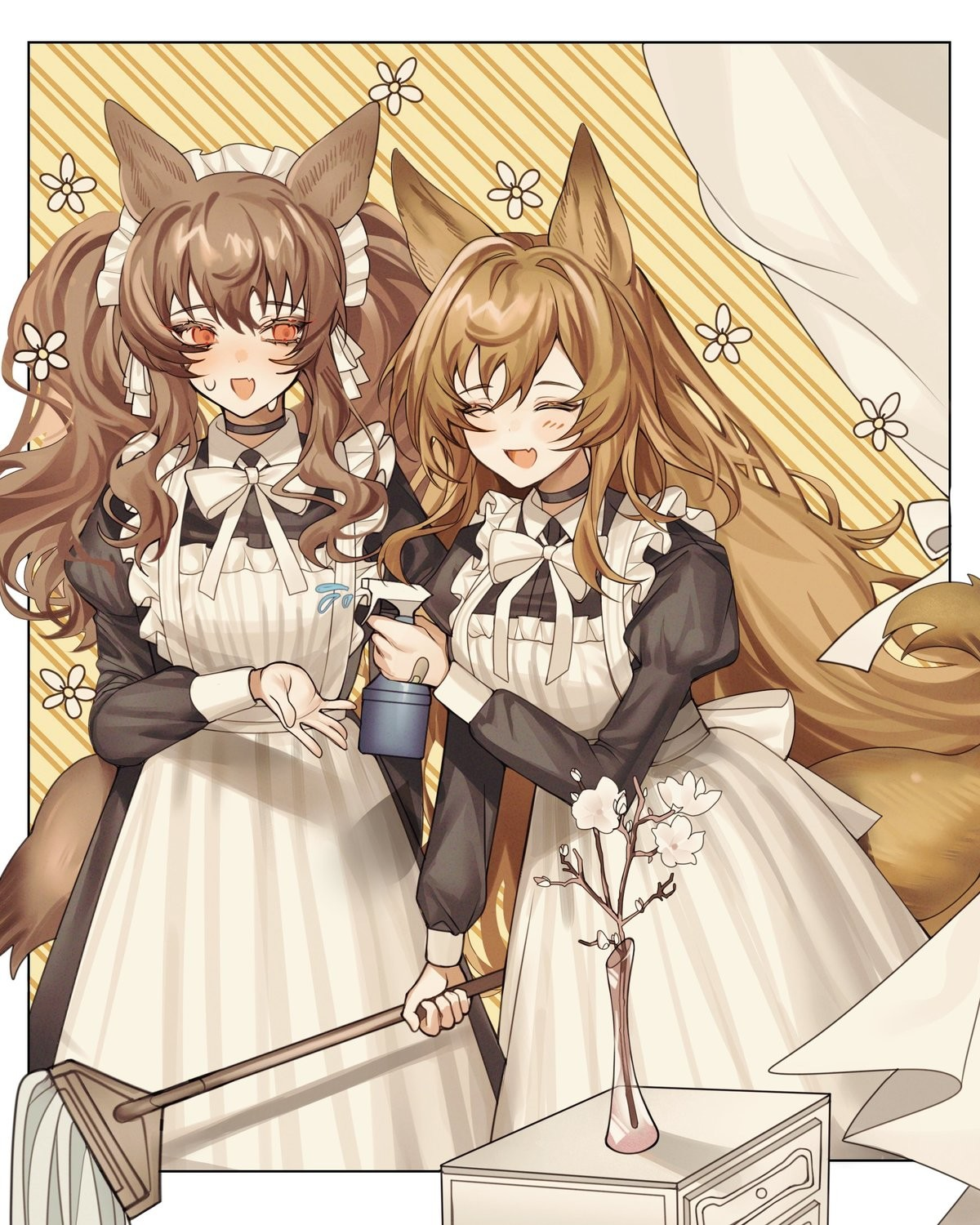 Maid March part 9. join list: SplendidServants (486 subs)Mention History join list:
