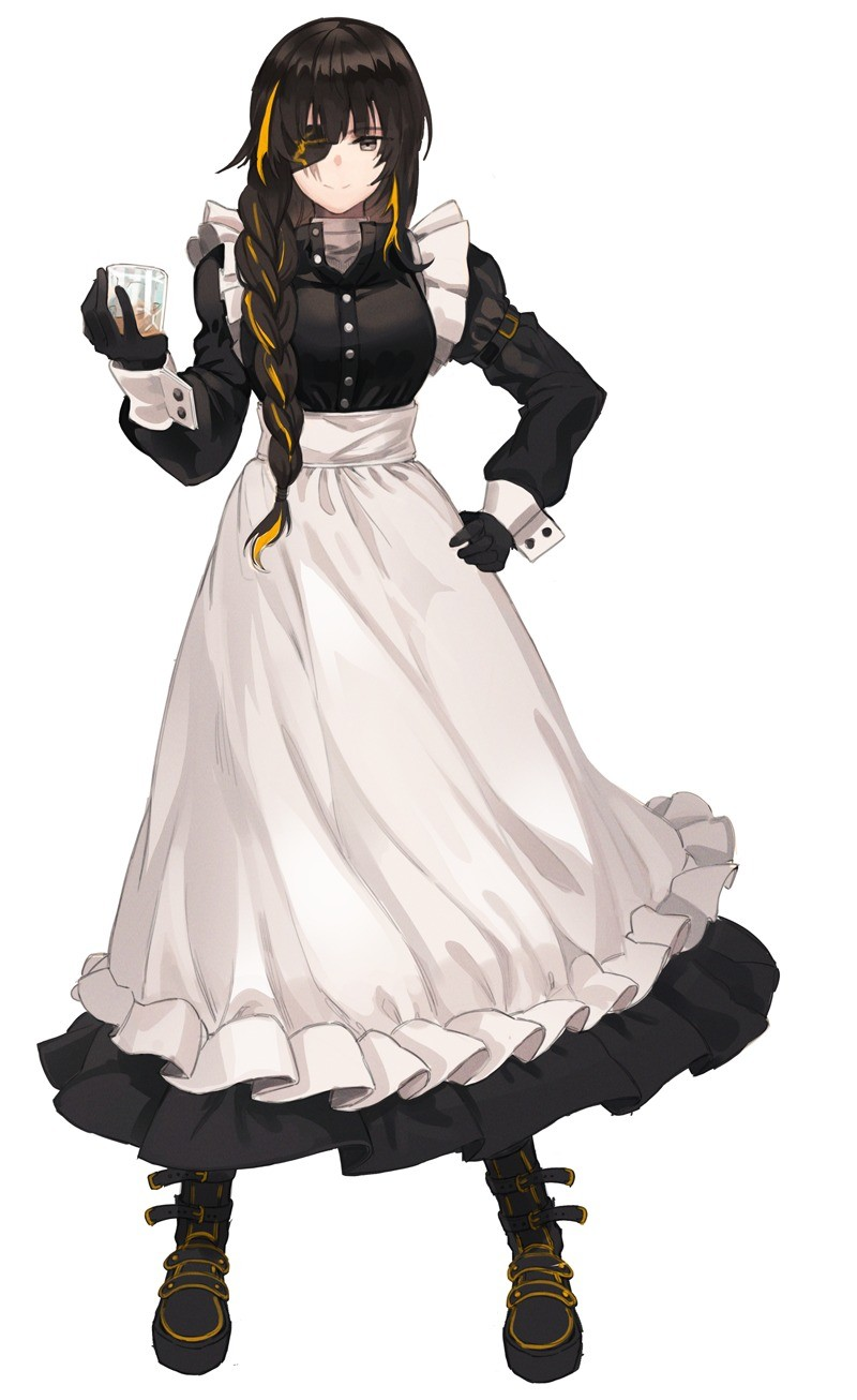 maids with eyepatches. join list: SplendidServants (486 subs)Mention History join list:. First one is M16A1 from Girls Frontline. Ironstorm, get the list!