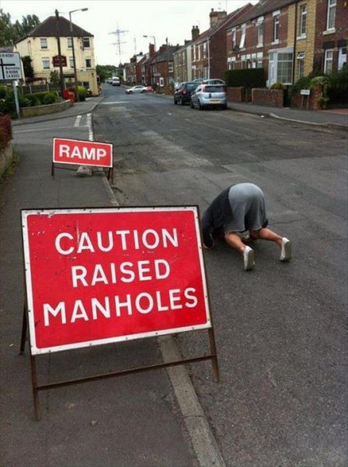 Man Hole. Source: dumpaday.