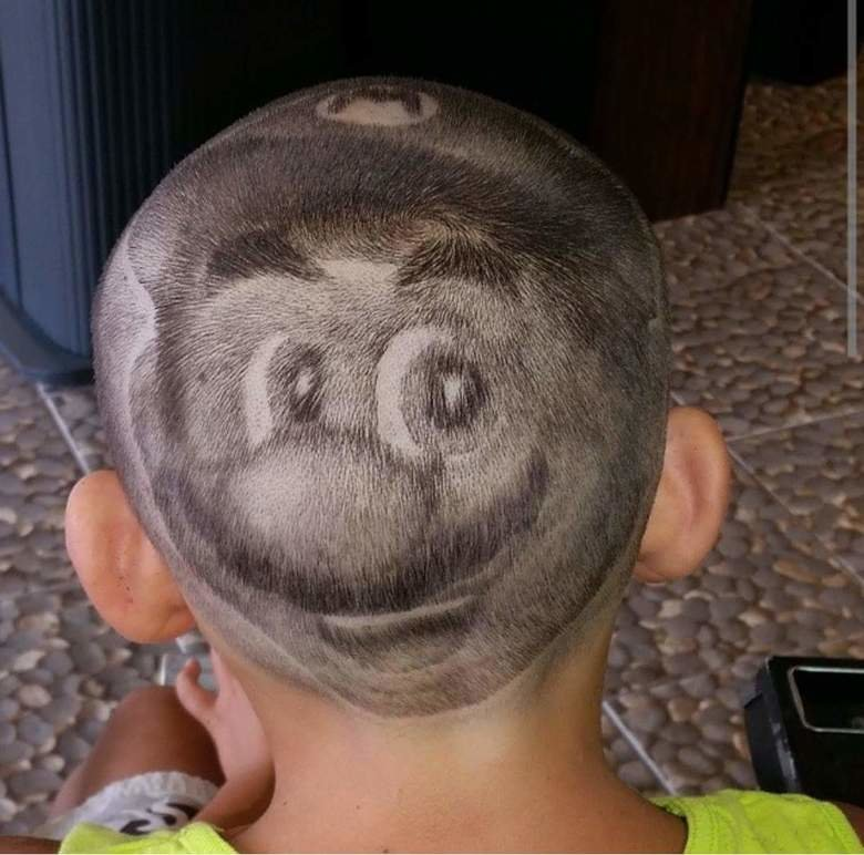Mario. .. Barber: What you want fam? Me: Mamma mia, I dunno. Barber: Say no more fam