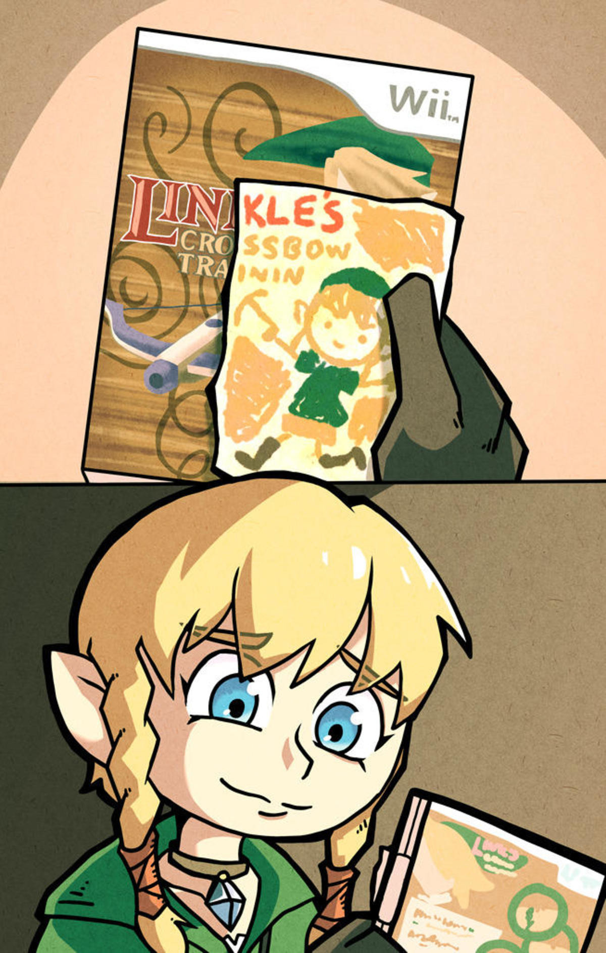 Maybe next time.... Playing Linkle's story in HD is reason enough for me to by a Switch! And Metroid..... PROTECT THIS SMILE!