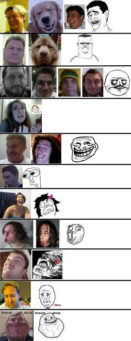 meme faces. sorry if repost.. pwned