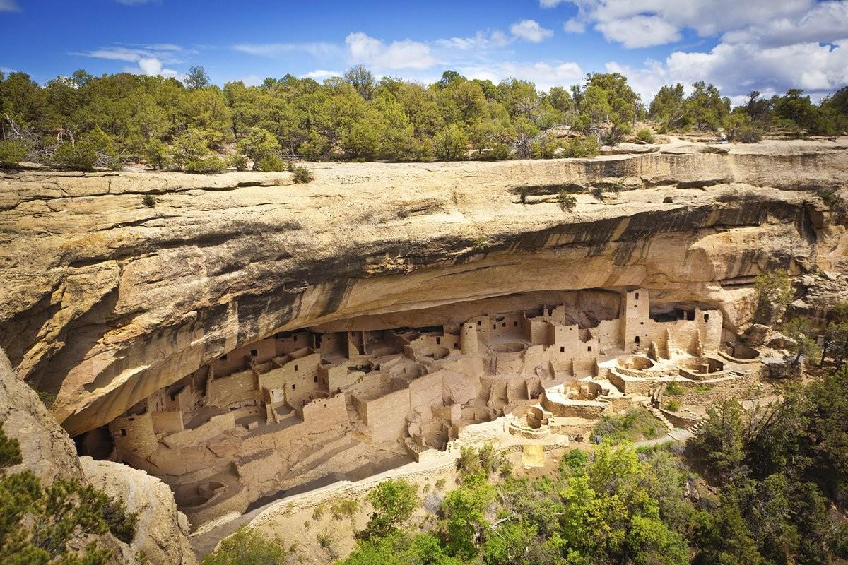 Mesa Verde National Park (Colorado, United States). .. Mas Verga National Park