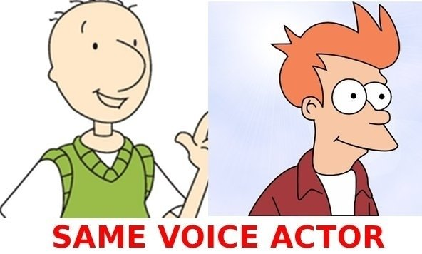 Mind Blown. . SAME VOICE ACTOR. That's not really mind blowing, they sound relatively similar.
