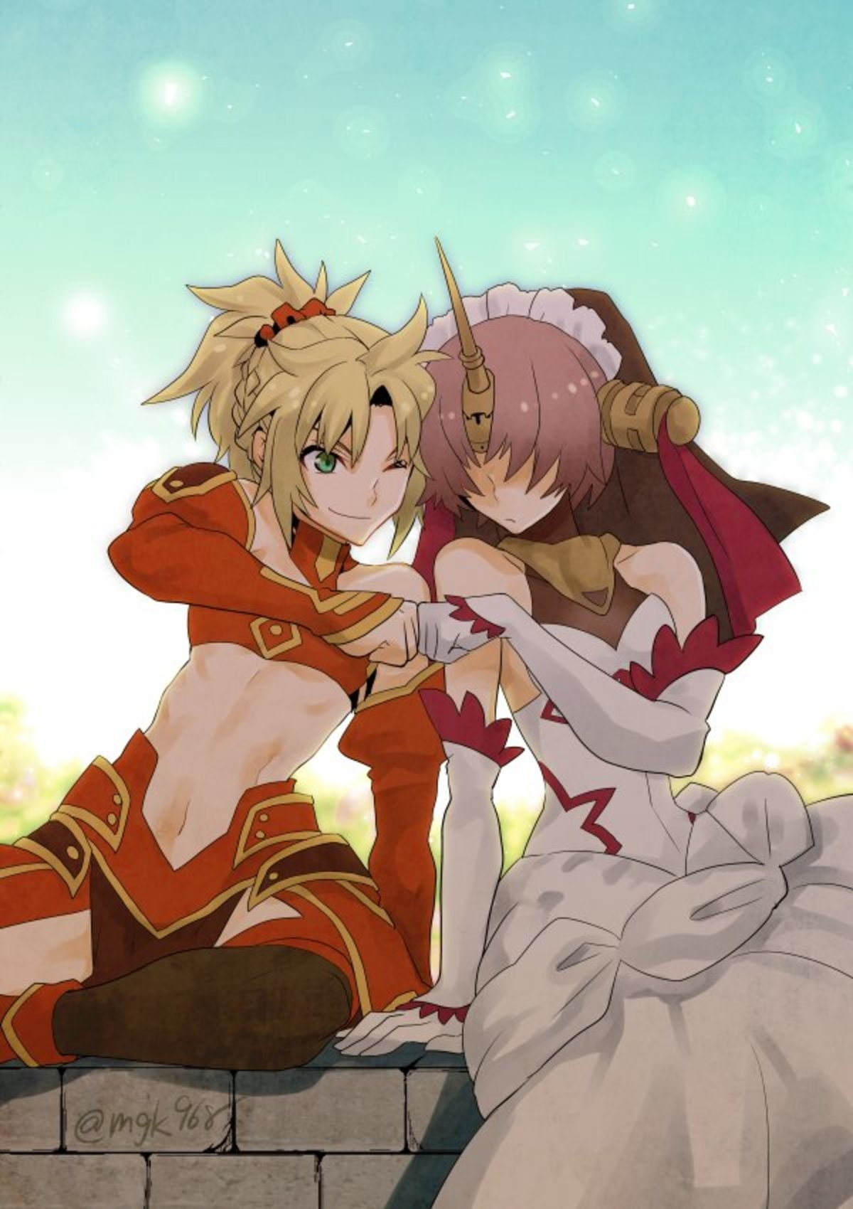 Mordred and Fran Fistbumping. Source First Picture Second Picture theapocryphacmeng/ join list: Fate (421 subs)Mention History join list:. Fran kawaii