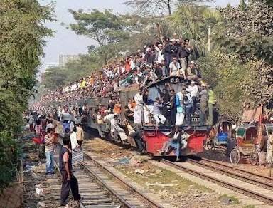 Most passenger trains. Most passenger trains.