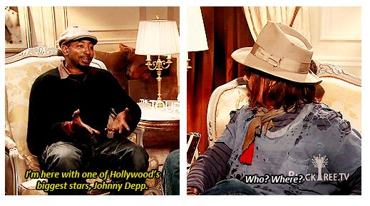 Mr Depp. so fani. Flu.