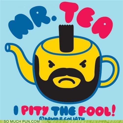 Mr. Tea. So punny!.. ohh cool :D
