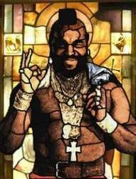 Mr T nothing else. What?.. MR T IS DA HE SAYS THIS TO EVERY 1 SHUT UP FOUL