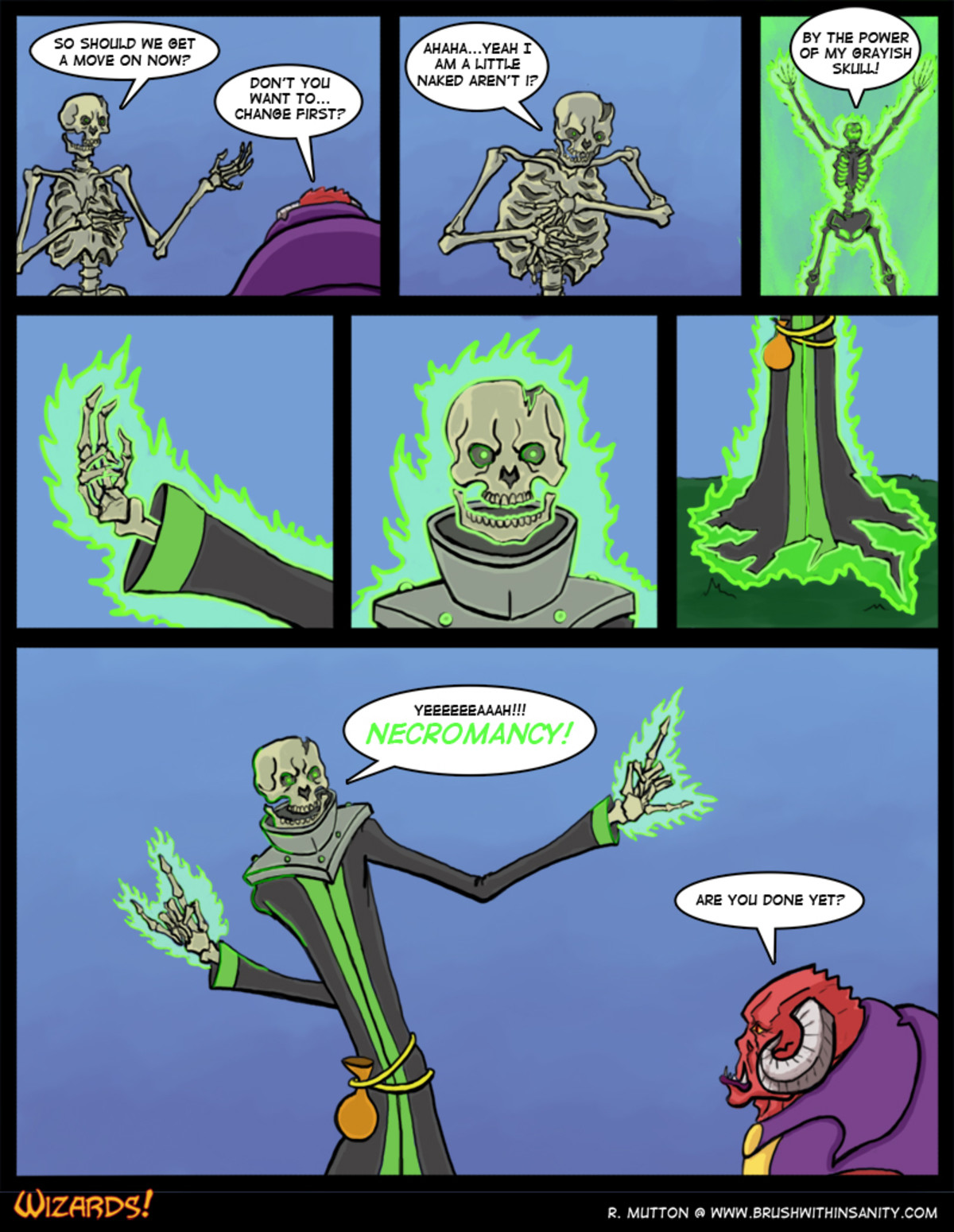 muffled skeleton warriors theme starts to play. .