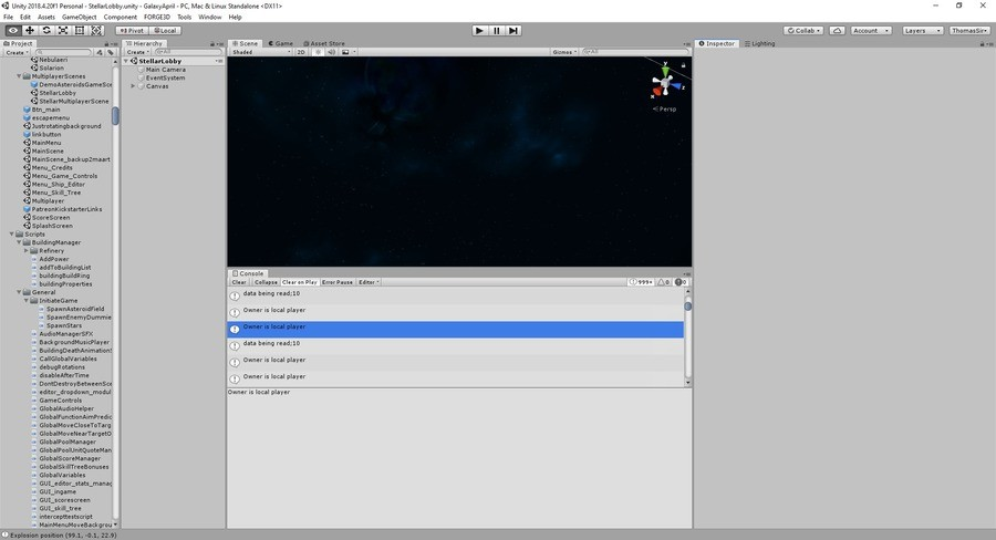 Multiplayer gamedev. I don't know much about multiplayer gamedev. So I decided to make a multiplayer game. Step by if you wanna chill or ask questions about the