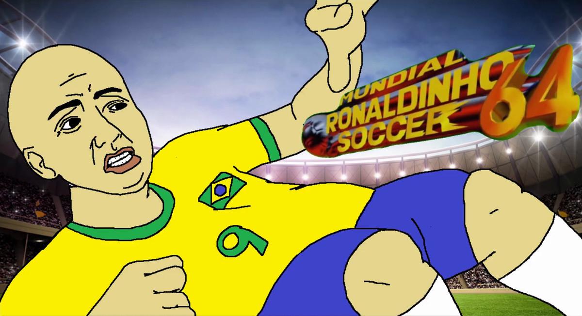 Mundial Ronaldinho Golf. .