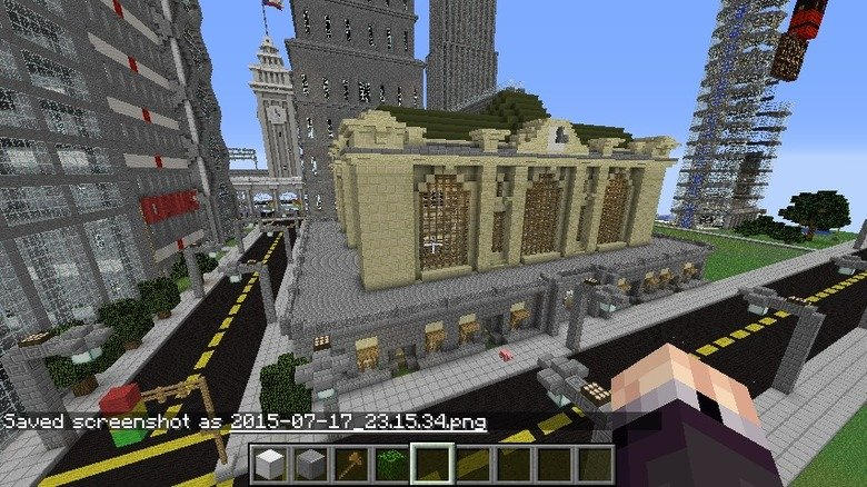 My Grand Central Station Minecraft Build. This is my Grand Central Station Build in Minecraft. While I tried to built it accurately to scale, I had to make the