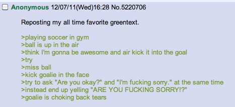 My sides. sorry for the repost, found while browsing. Cl Anonymous ' ) 46: 28 Repeating my all time favurite eat. relaying saucer in gym xball is up in the air