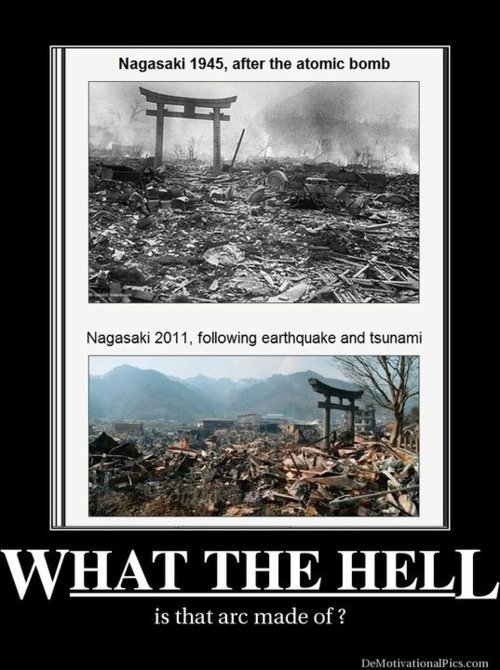 Nagasaki Torii gate.. Ok. Last update. This made front page. Ok. I'm not that happy, I didn't make this and I made that clear. BUT. 700+ people didn't see this