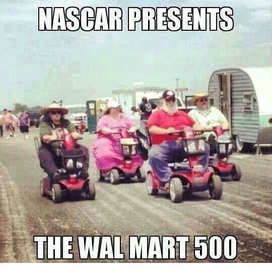 Need for speed and insuline. .. I enjoy NASCAR