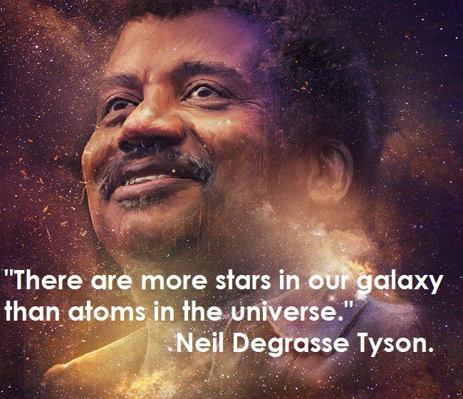 Neil Degrasse Tyson quote. .. I really didn't think so many people would take this seriously until I looked at the comments...damnit people