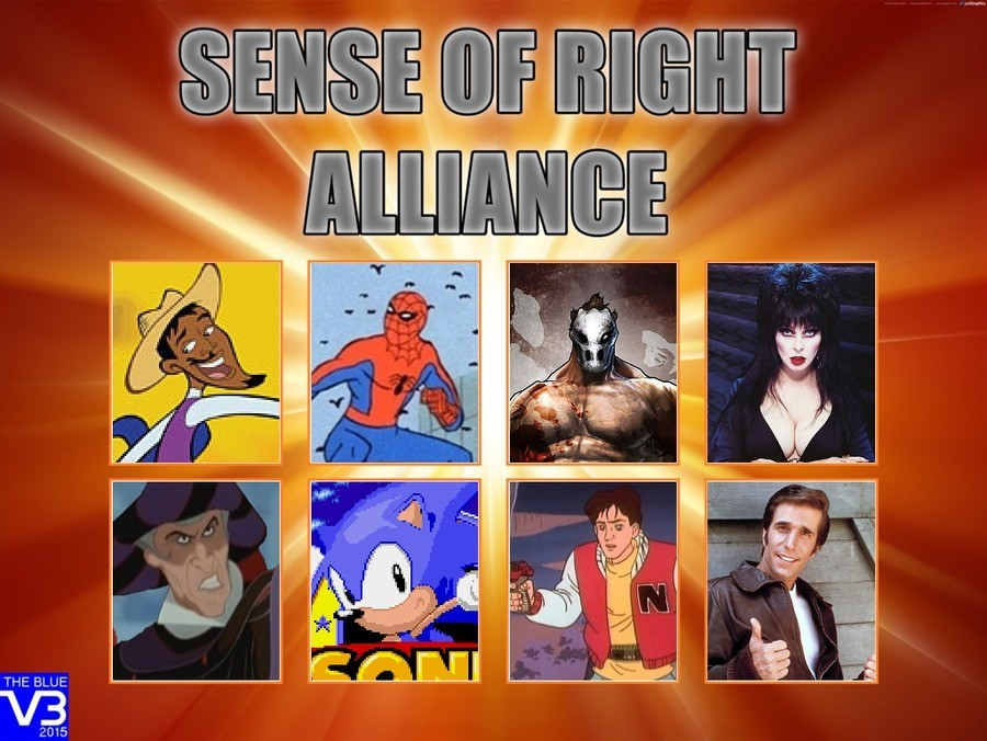 Neo Sense of Right Alliance. The greatest anime characters come together to form the world's most awesome band since Tenacious D.. THE BLUE 2015. Aaaaaw YEaaaaahhhhh