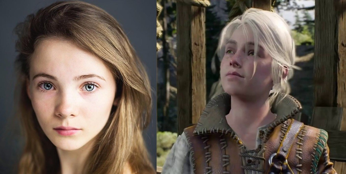 Netflix Witcher cast announcement. Freya Allan as young Ciri Anya Chalotra as Yennefer.. Ok, so if I search Anya Chalotra, google spits out pictures of Belçim Bilgin for some reason. Anyway the Yennefer in the post isn't the actress. This is her. I