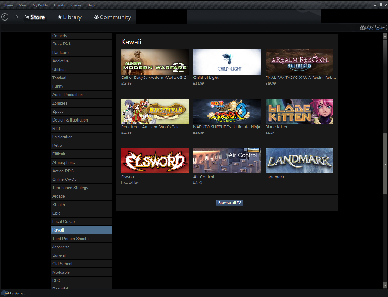 Never change steam.. I loved it's squeal Call of duty:desu ops. 1- Store i Library Hawaii Browse all 52