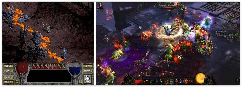 NEVER FORGET. Diablo I + II master race... what the did you think? warcraft 1-3 what awesome, but i hate WoW