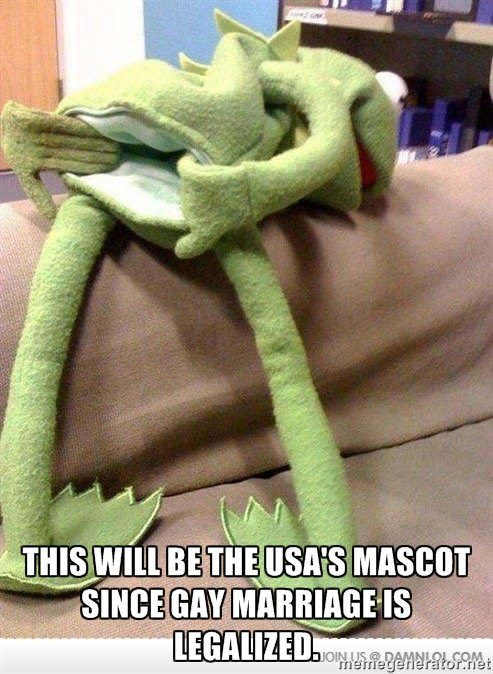 New American Mascot. the government... Your watermarks are overlapping!
