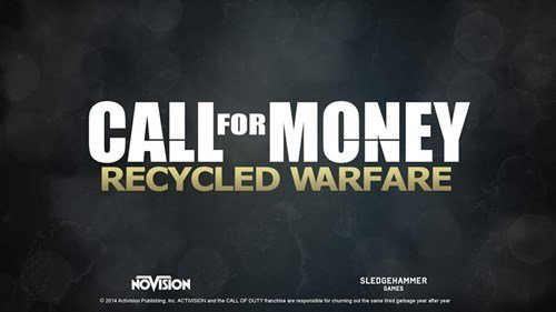 New Call Of Duty. .