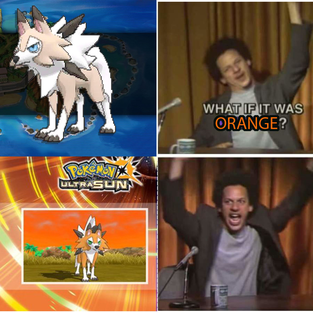 New Lycanroc Form. This recolor of a form deserves all backlash. . Xiii, was. It actually seems to be just a weird combo of the other two forms.