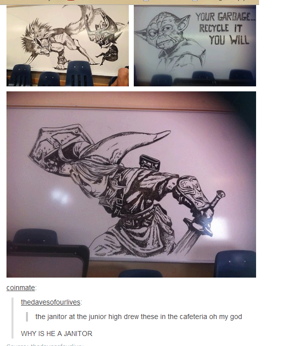 Nice.. The tags read you will. CUM melm at high drew these in the cafeteria rm; we WHY IS HE A. Because he went to art school.